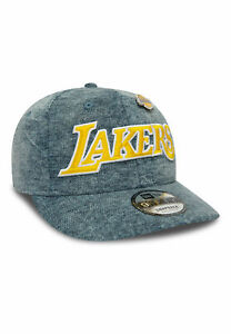 NEW-ERA-9FIFTY-NBA-DENIM-LOS-ANGELES-LAKERS-LA-SNAPBACK-CAP-GORRA-12040360