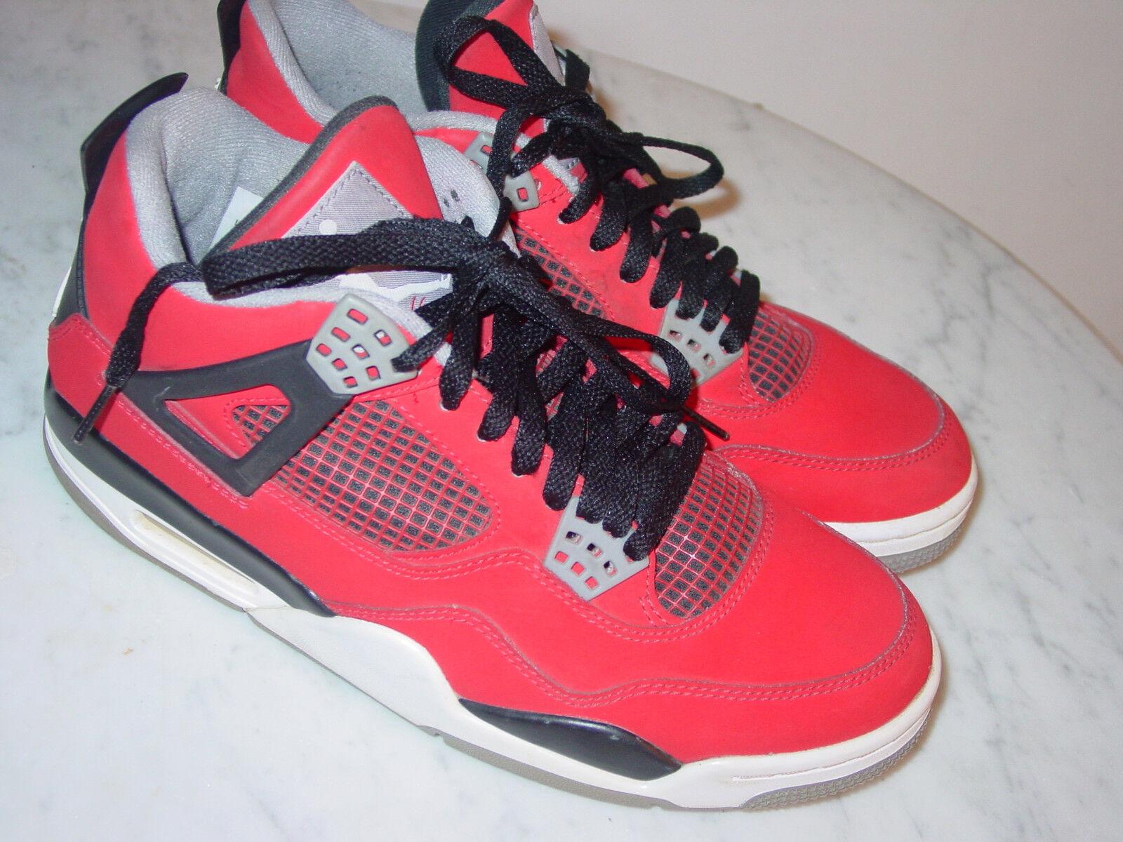 ed4315e765e735 2013 Nike Air Air Air Jordan Retro 4 Tgold Bravo Fire Red White Black shoes  Size