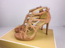 1885ec0897e1 item 5 NIB Michael Kors Sandra Platform Suede Caged Dress Sandals Terra  Size 10M -NIB Michael Kors Sandra Platform Suede Caged Dress Sandals Terra  Size 10M