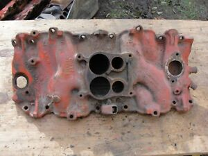 Details about 72 Corvette Original BBC 454 Cast Iron Intake Manifold Oval  Port LS3 LS5 B-18-72