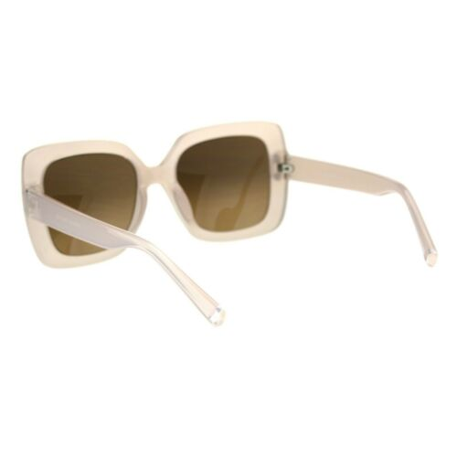 Womens Minimal Mod Thick Plastic Rectangular Butterfly Designer Sunglasses