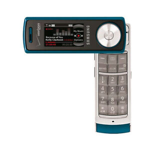 Samsung-Juke-SCH-U470-Replica-Dummy-Phone-Toy-Phone-Teal-Bulk-Packaging