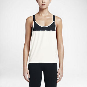 9d41d5faa9 Nike 686176 Women s Woven 2-in-1 Loose Sports Bra Tank Top  60 ...