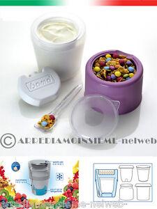 PORTA-YOGURT-contenitore-alimenti-YO-KIT-refrigerante-portayogurt-tupperware