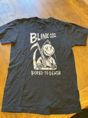 Blink-182 Bored To Death Shirt Sz M
