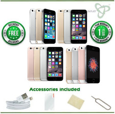 iPhone 5s/6/6+/6s/SE - 16/32/64/128GB - Vodafone/TalkTalk/Lebara-Various Colours