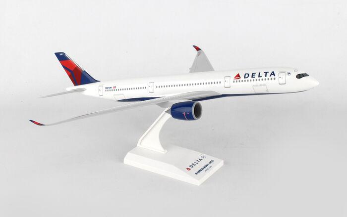SKR950 SKYMARKS SKYMARKS SKYMARKS DELTA AIRLINES AIRBUS A350 1 200 DISPLAY MODEL AIRPLANE c30bdd