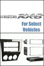 GLOSS BLACK CAR STEREO RADIO INSTALL DASH TRIM KIT FOR 09-11 MAZDA RX8/RX-8