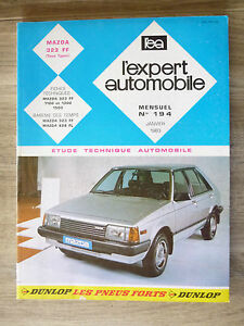 REVUE-EXPERT-AUTOMOBILE-MAZDA-323-FF-TOUS-TYPE-N-194-JANVIER-1983