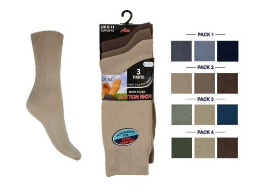 Mens Cotton Lycra Socks Cascade Aler Lycra Cotton Socks Size UK 6//11.