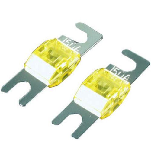 2 Sicherungen Dietz 23083 Mini ANL Sicherung 150 Amp