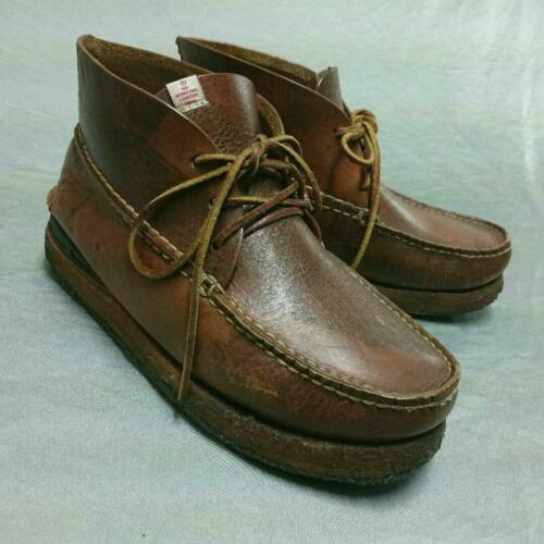 VISVIM boots canoe moc folk VISVIM brown 27cm US9
