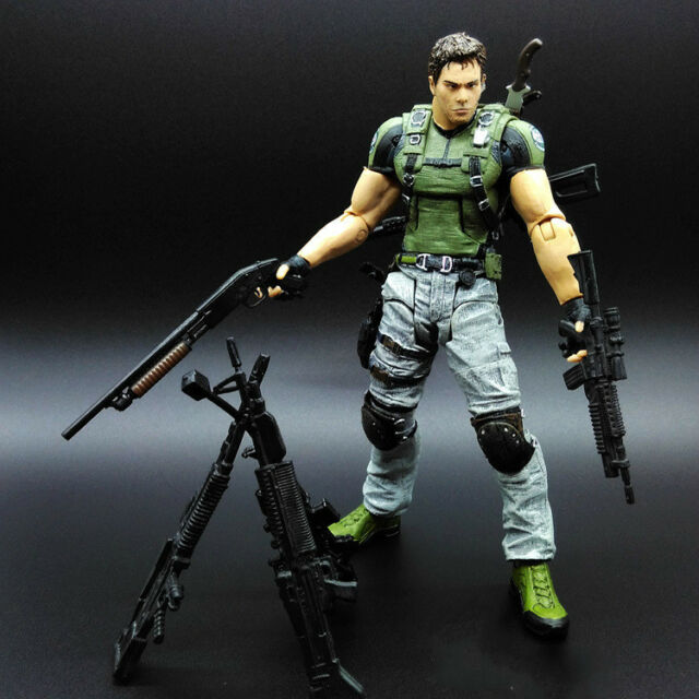 Neca Resident Evil Series 5 Chris Redfield Action Figure 25 Points