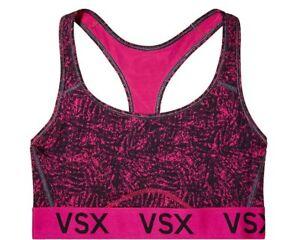 66dfe5c16cd10 NEW Victoria s Secret Sport VSX The Player Racerback Sport Bra Pink ...