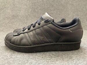 ADIDAS-Superstar-WOMEN-039-S-SCARPE-TAGLIA-5-5-Nero-scarpe-basse-sneaker-con-UE-38-5