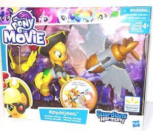 my little pony movie applejack pirate pony guardians of harmony