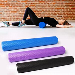 physio eva foam yoga roller gym pilate back training