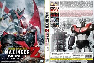 ANIME-DVD-Mazinger-Z-Infinity-The-Movie-Eng-sub-amp-All-region-FREE-SHIPPING-SKU3