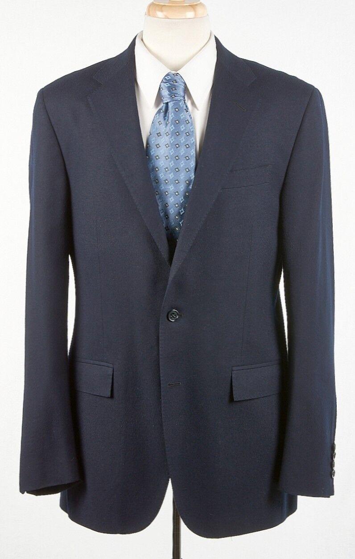 b41f6e067d Mens Navy Blazer 42L by RALPH LAUREN, Extrafine Wool ITALY x ...