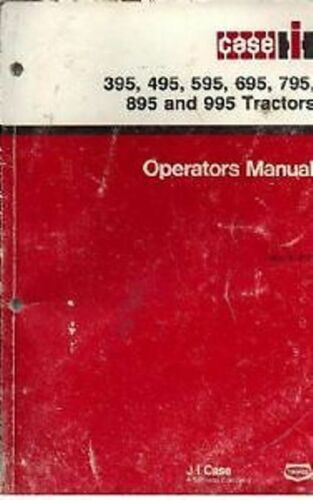 Case Ih Tractor 395 495 595 695 795 895 995 po Manual