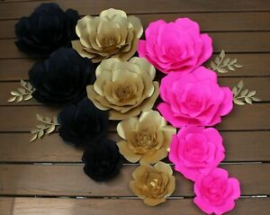 Details About Kate Spade Paper Flowers For Wall Decor Backdrops