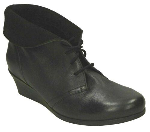 Damen Winter Smart Schnürstiefeletten Keilabsatz Schuhe Größe Van Dal Nantucket