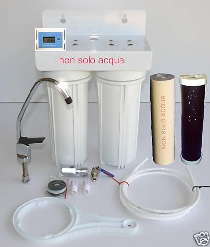 PURIFICATORE d/'acqua a microfiltrazione,NO OSMOSI,DEPURATORE D/'ACQUA