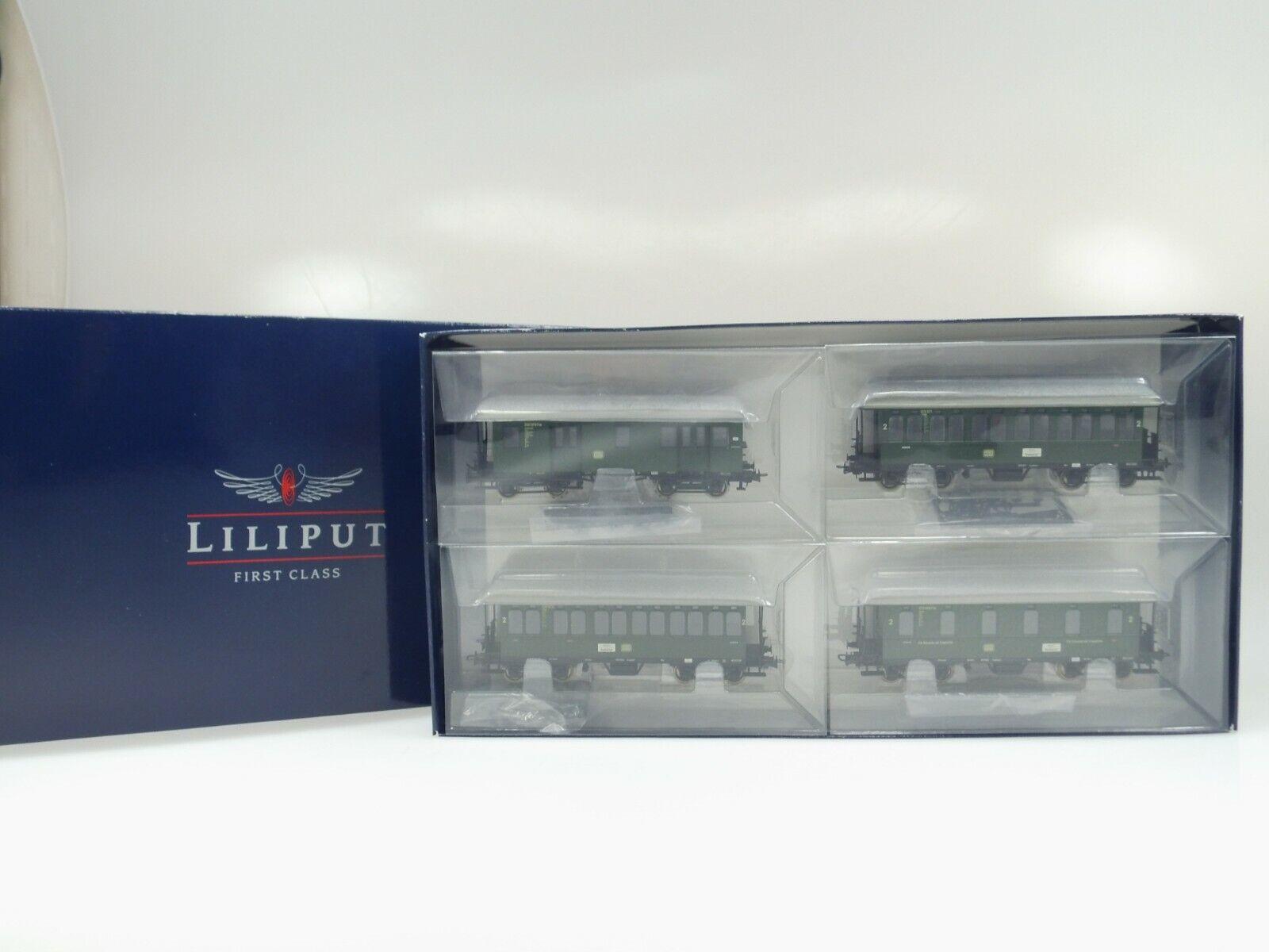 40280 Liliput H0 4er Set Langenschwalbacher DB Tipo Nr.L351001 Dc