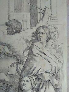 Gravure-ancienne-italienne-italian-engraving-G-Reni-1575-1642