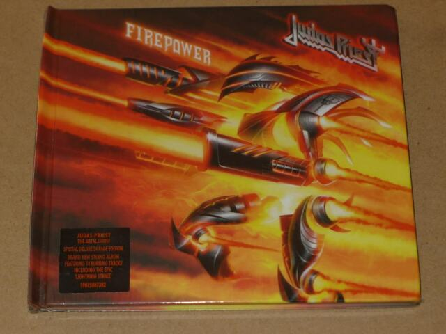 FIREPOWER by Judas Priest (CD, Mar-2018, Columbia (USA))