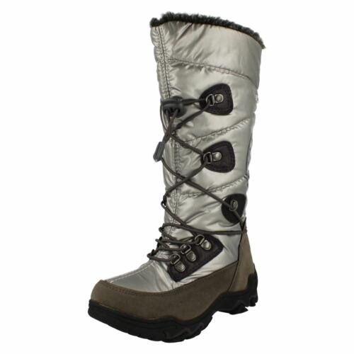Girls Linea Supremo Snow Boots /'Apres Ski/'