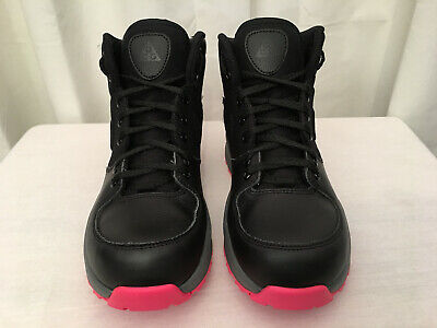 Black-hyper Pink Boot Shoe Euc An Indispensable Sovereign Remedy For Home Professional Sale Nike Youth's Manoa Size 5.5y gs 859412-006