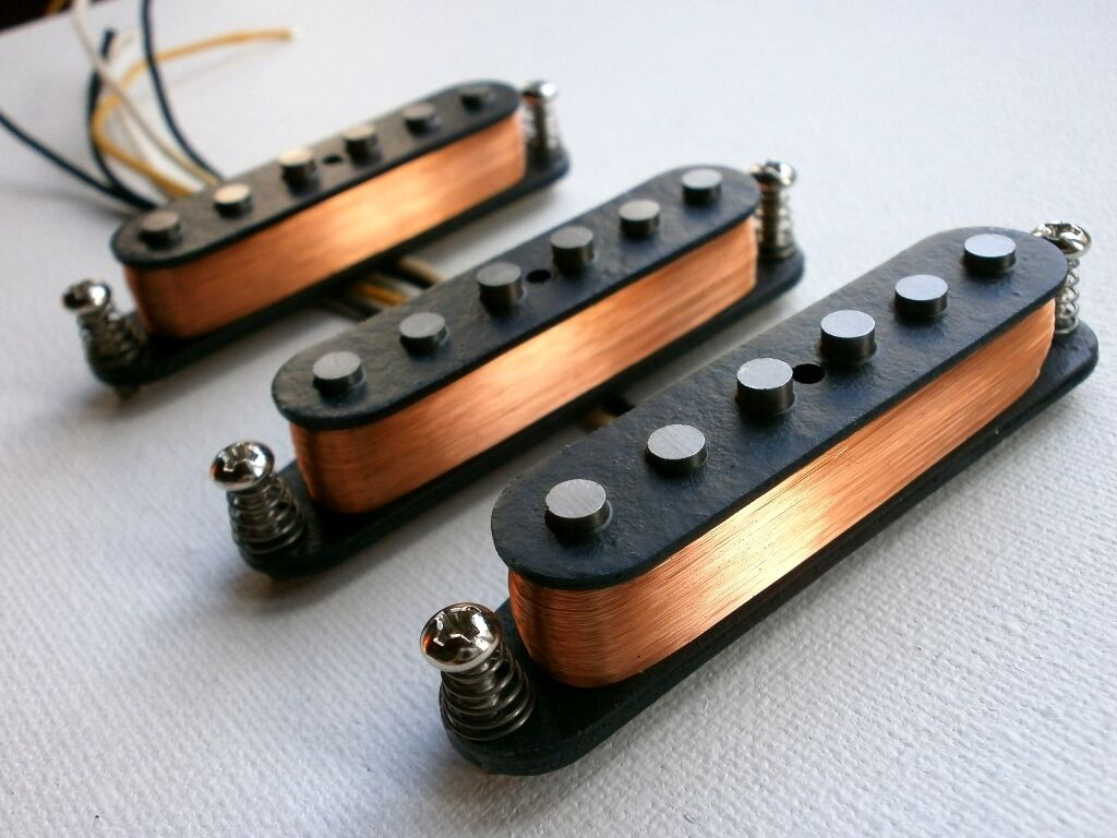 HOT Stratocaster A5 Pickups SET  HandWound SRV Fender bluees Rock Rory Gallagher