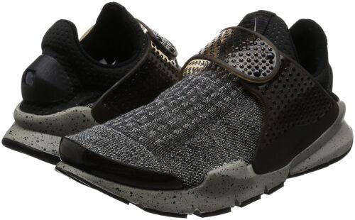 Men/'s Nike Sock Dart SE Premium Running Shoes 859553 001 Sizes 7-14 Black//White