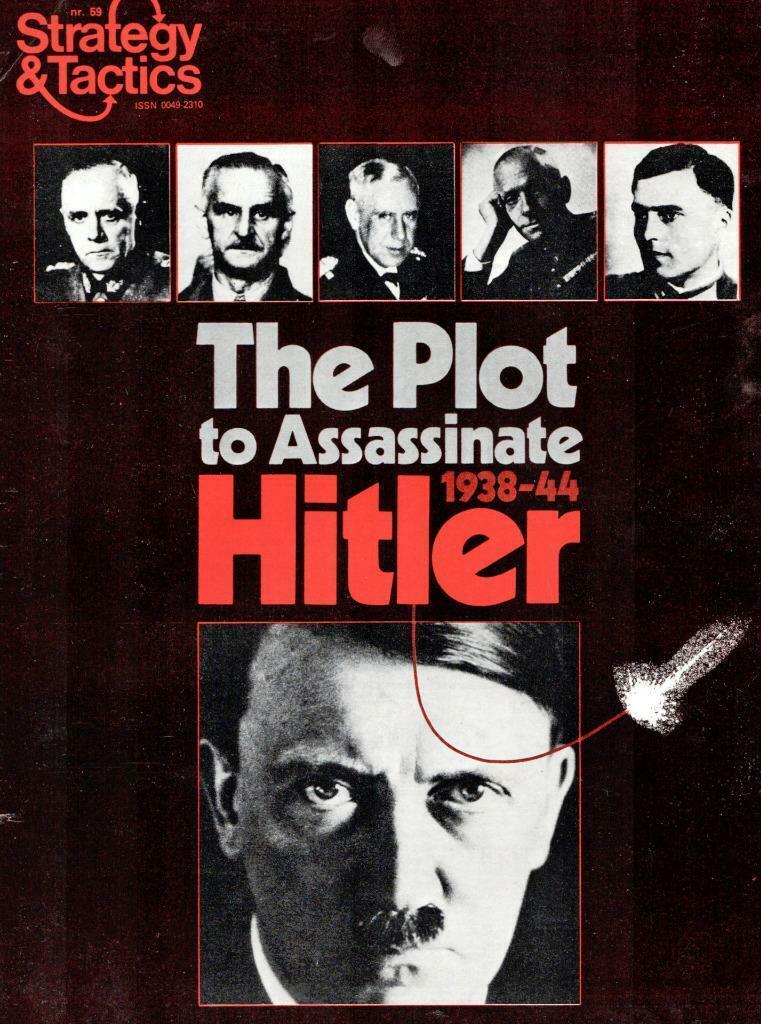calidad de primera clase Estrategia y tácticas 59, 59, 59, el complot para asesinar a Hitler, SPI S&t, ENLOMADOR, Bono  suministro de productos de calidad