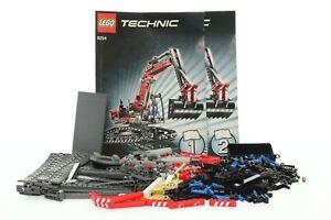Lego Technic Model Construction Set 8294 Excavator 100% complete + instr. 2008 | eBay