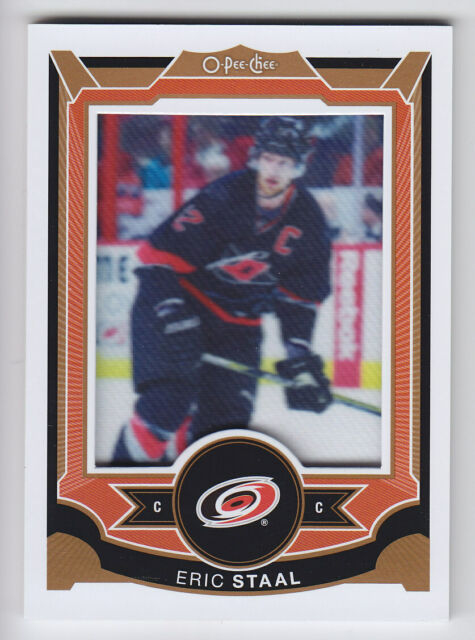 2015-16 OPC O PEE CHEE ERIC STAAL PATCH MANUFACTURED #P-7 Hurricanes Wild