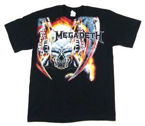 Band Megadeth Shirt Sickle T MerchEbay Black Vic New Official BrCdxoe