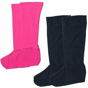 Genuine Ladies Plain Fleece Welly SocksBoot Linersf