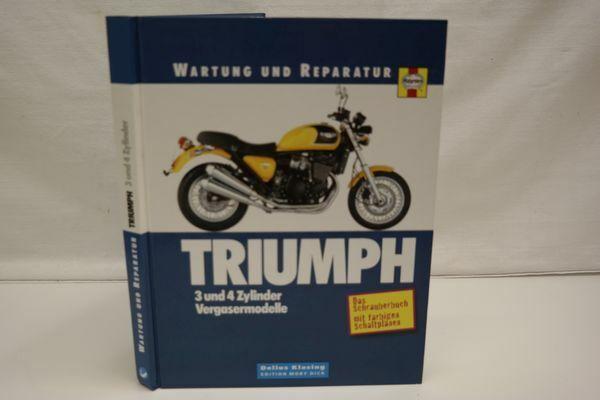 Wartung und Reparatur: Triumph 3 und 4 Zylinder Vergasermodelle