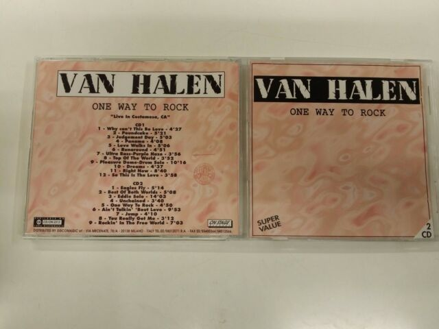 VAN HALEN ONE WAY PARA ROCK 2CD 1994