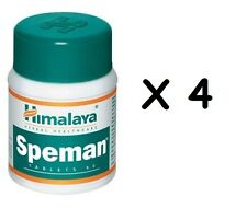 4x HIMALAYA HERBAL SPEMAN 240 TABS