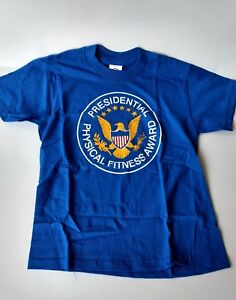 Vintage Presidential Physical Fitness Award Shirt 1990/'s Physical Education Old