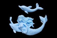Sugarcraft Silicone Molds Sugarpaste Fondant Mould Cake Decorating Tool Mermaid