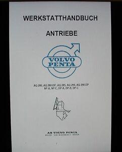 Werkstatthandbuch für Volvo Penta Z-Antriebe - Oberfranken, Deutschland - Werkstatthandbuch für Volvo Penta Z-Antriebe - Oberfranken, Deutschland