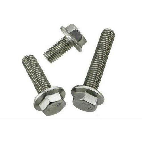 M5 M6 M8 M10 Flanged Hex Head Bolts Nut 304 Stainless Steel Flange Hexagon Screw