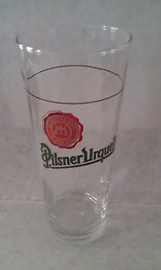 Pilsner-Urquell-tall-beer-collectors-glass-rare-pint-glass-with-mark-new