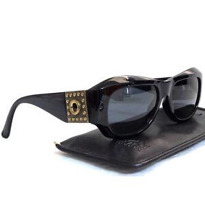 72209899e53e Image is loading Authentic-Gianni-Versace-Black-Sunglasses-Mod-395-Col-