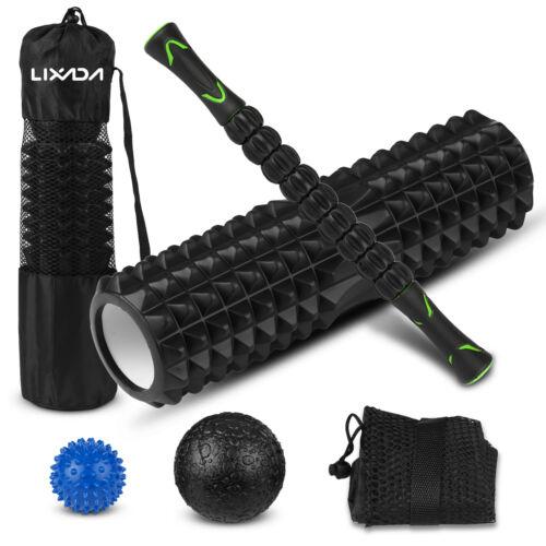 Massage Set Muscle Relief Kit Fascia Training Pack Roller Stick Foam Roller X1E9