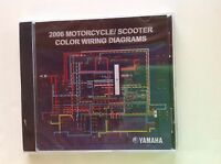 2006 Yamaha Motorcycle/scooter Color Wiring Diagrams On Cd
